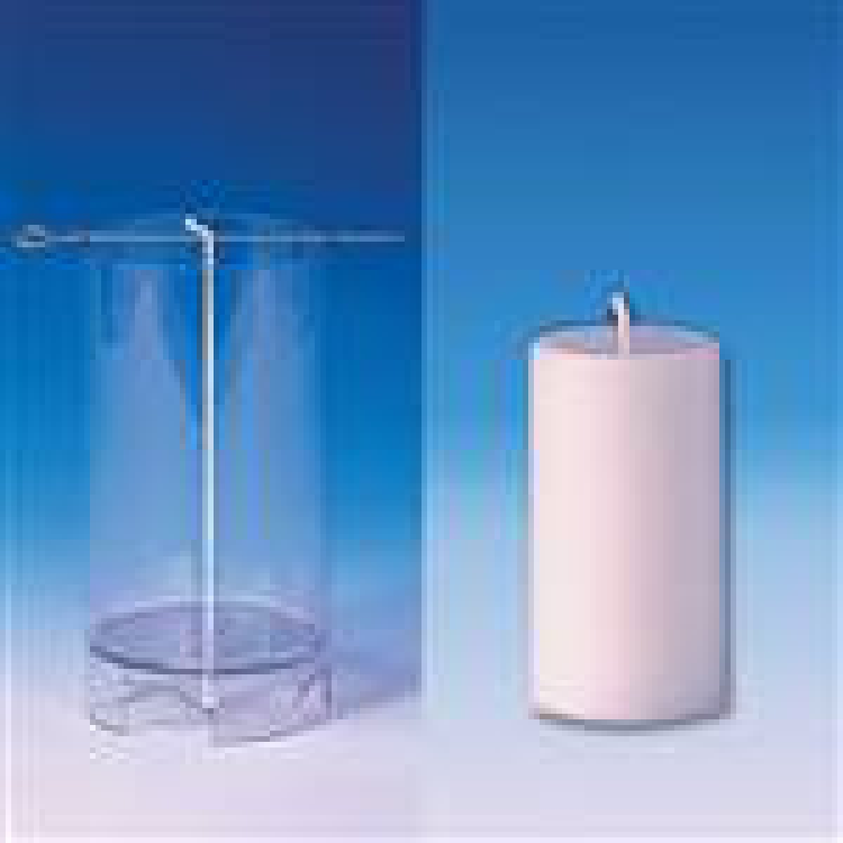 moule pour bougie cylindrique sommet plat 62 x 107 mm. Black Bedroom Furniture Sets. Home Design Ideas