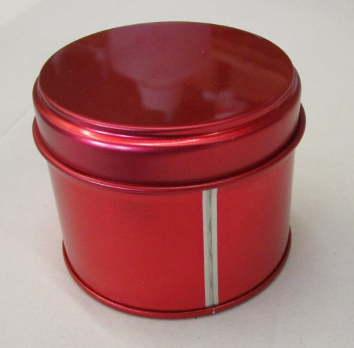 pot bougie rouge